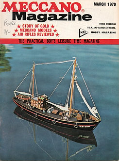 Meccano Magazine March 1970
