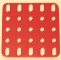 Flat Plate 5 x 5 holes