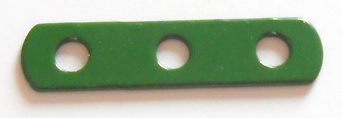 Narrow perforated strip 3 hole