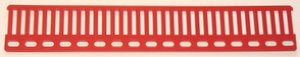 Girder strip (railing) 17 holes