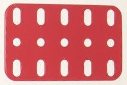 Flat Plate 5 x 3 holes