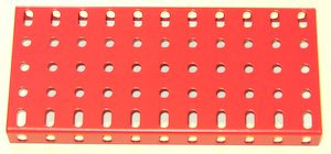 Flanged Plate11 x 5 holes