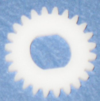 24 tooth Delrin Gear Disc