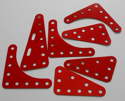 Assorted Triangular flex plates