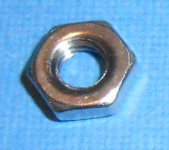 Stainless Steel Nut 2 mm thick (50) (Metric M4)