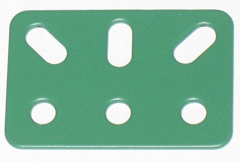 Flat Bracket 3 holes 3 slots