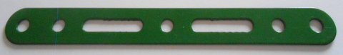 Slotted strip 5 holes + 2 slots