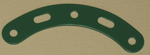 Curved Strip 3 holes, 2 slots