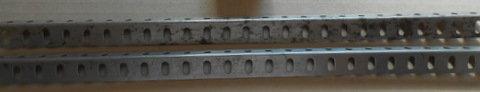 25 hole zinc Angle girders (2)
