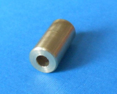 "3/4"" Brass Roller-spacer threaded"