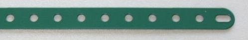 13 hole Perforated strips slotted ends