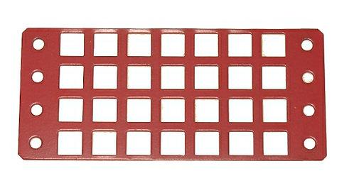 Window 4 x 9 holes