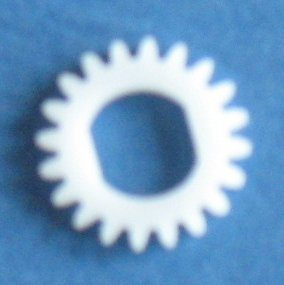 20 tooth Delrin Gear Disc