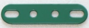 4 hole Perforated strips slotted ends