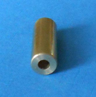 "1"" Brass Roller-spacer threaded"