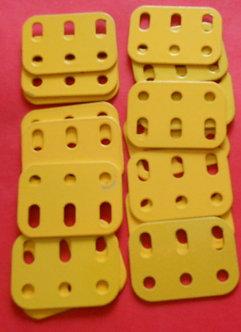 3 hole Flat Girders in yellow (16)