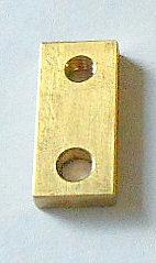 Meccano threaded bearing Strip 2 hole