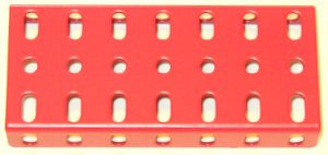 Flanged Plate 7 x 3 holes
