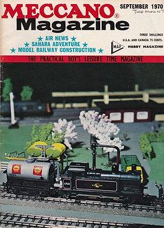 Meccano Magazine September 1970