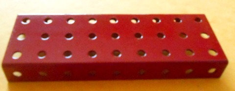 Flanged Plate 9 x 3 holes
