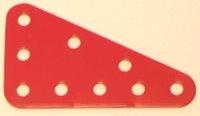 Triangular Plate 5 x 3 holes