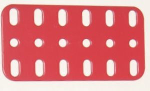 Flat Plate 6 x 3 holes