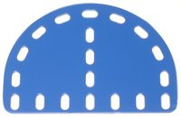 Flexible Plate semi circular 7 x 5 holes