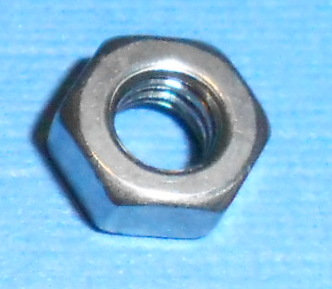Stainless Steel Nut 3 mm thick (50) (Metric M4)