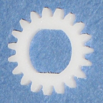 19 tooth Delrin Gear Disc