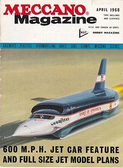 Meccano Magazine April 1968