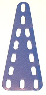 Triangular Flexible Plate 3 x 7 holes