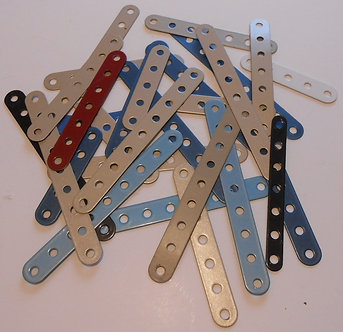 Mixed flexible perforated strips