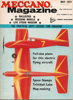 Meccano Magazine May 1971