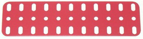 Flat Plate 11 x 3 holes