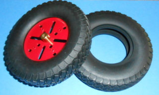 "4 1/4""Lorry/car tyre"
