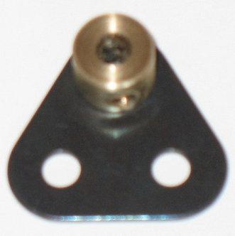 Small Triangular bracket  with boss