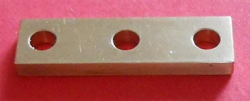 3 hole Brass Bearing Plate