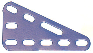 Triangular Flexible Plate 3 x 5 holes
