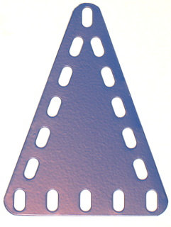 Triangular Flexible Plate 5 x 7 holes