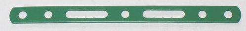 Narrow Slotted Strip 5 holes, 2 slots