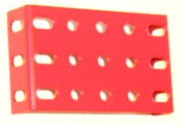 Flanged Plate 5 x 3 holes flanges on ends