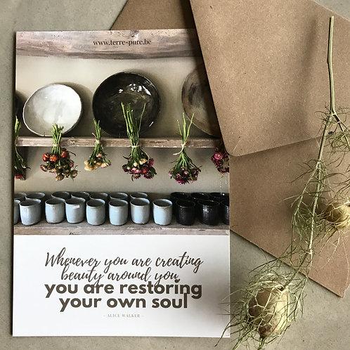"""kaart """"restoring soul"""""""