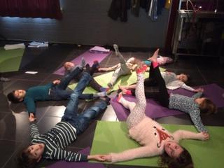Yoga crea dagen voor kinderen