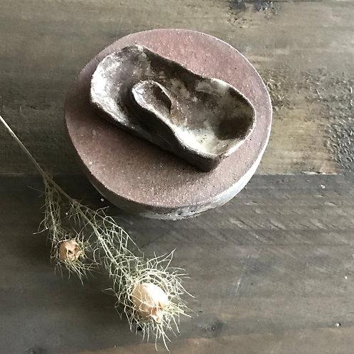 Mini urne golf roest