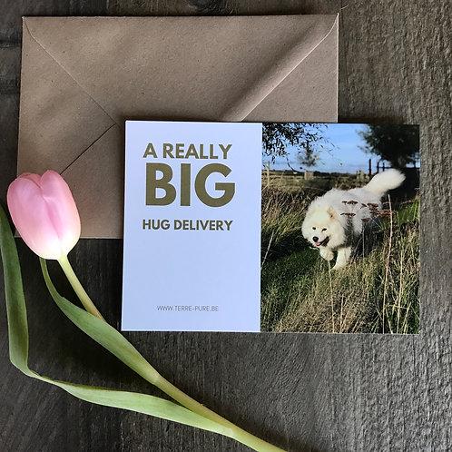 kaart BIG HUG DILIVERY