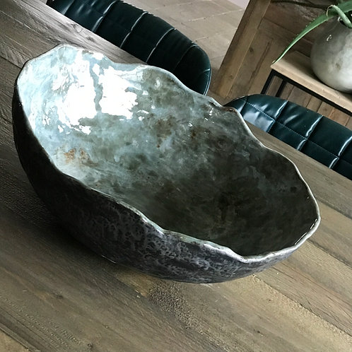 Grote handgemaakte schaal