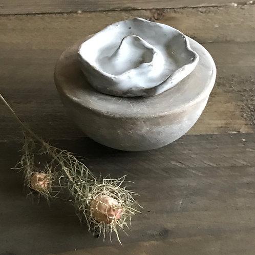 Mini urne  halve bol vorm (golf)