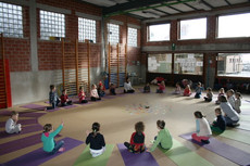 VBS_Otegem: Yoga op school