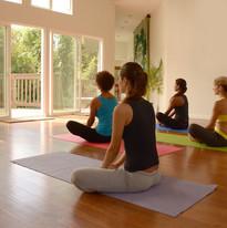 winward retreat center yoga room