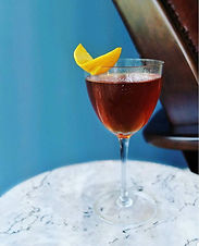 Smoky and complex, an excellent riff on a classic Vieux Carre